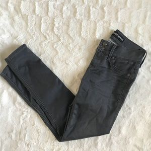 Express Jeans Low Rise Ankle Stella Zipper Ankle 0